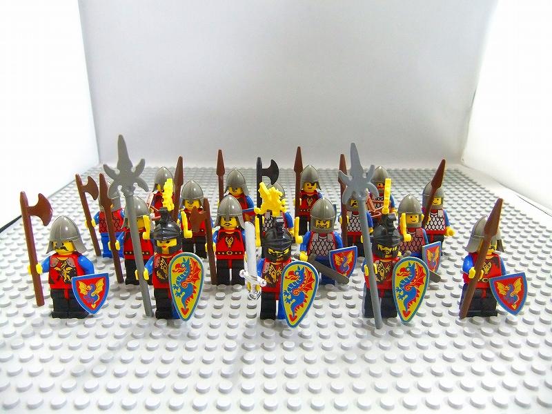 レゴニミフィグ ドラゴン騎士団 お城シリーズ LEGO買取楽珍堂